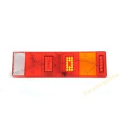 klosz lampy tylnej LED 7 segmentowej