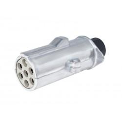 Wtyczka przyczepy 7 PIN, 24V, typ S, aluminiowa