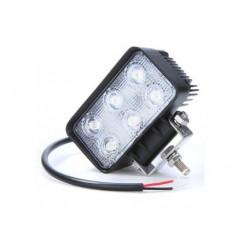 LAMPA 6 LED DIODOWA HALOGEN 18W 12-24 V