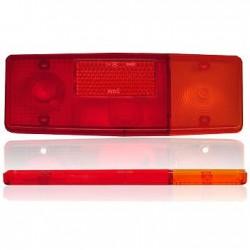 klosz lampy 551 prawy/lewy plastik C-360 D-47 D-50