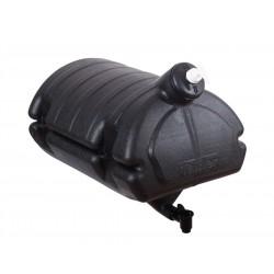 Zbiornik na wodę 30 litrów z poj na mydło czarny