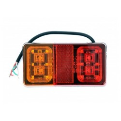 lampa zespolona diodowa do przyczepy lawet LED
