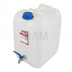 Pojemnik na wodę z kranikiem bańka 10l BAM-2