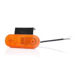 Lampa obrysowa LED boczna pomarańczowa