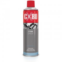 CX80 CYNK SPRAY 500 ML ZABEZPIECZAJĄCY PRZED KOROZJĄ