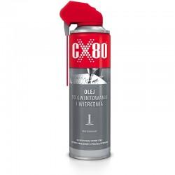 CX80 OLEJ DO GWINTOWANIA I NAWIERCANIA DUO SPRAY 500ML